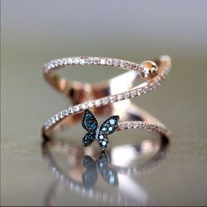 Jewelry - Butterfly Spiral Ring